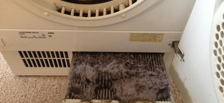 come pulire il filtro asciugatrice